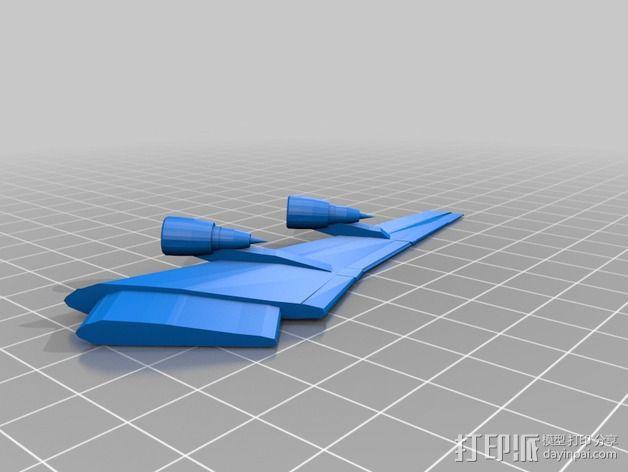 波音747飞机模型 3D模型  图9
