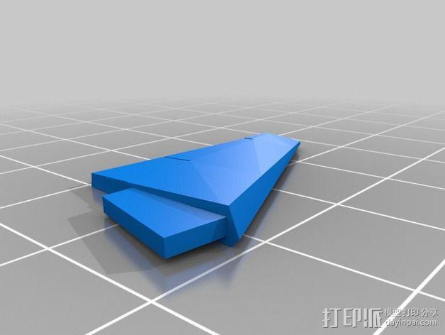 波音747飞机模型 3D模型  图11