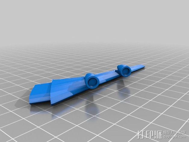 波音747飞机模型 3D模型  图10