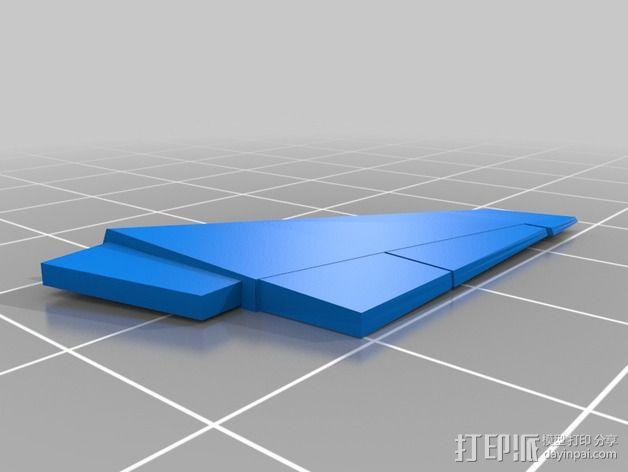 波音747飞机模型 3D模型  图12