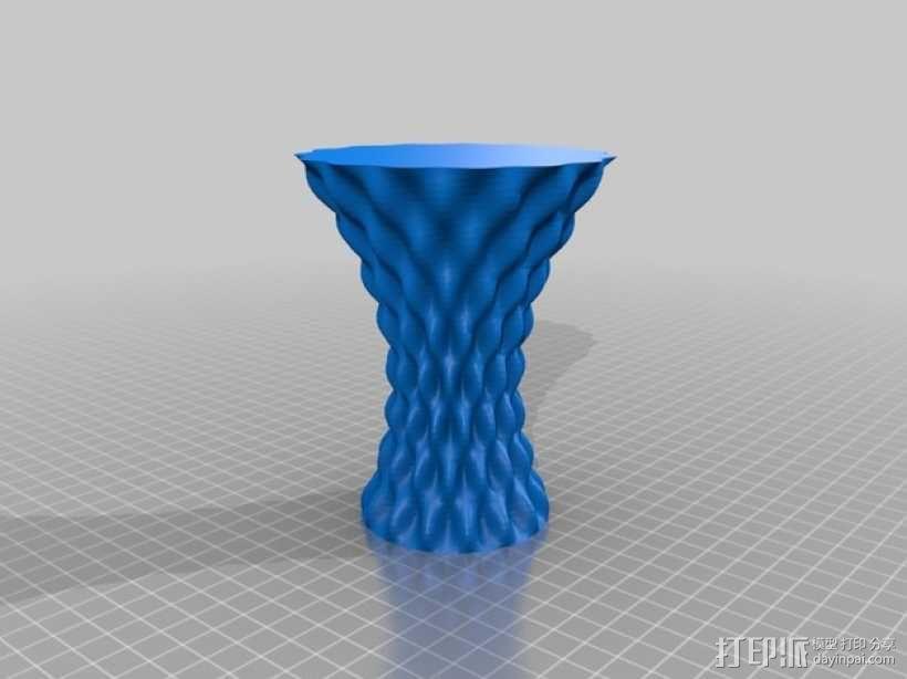 正弦和余弦曲线花瓶 3D模型  图5