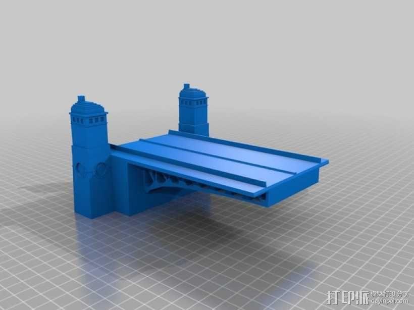 密歇根大街桥 3D模型  图2