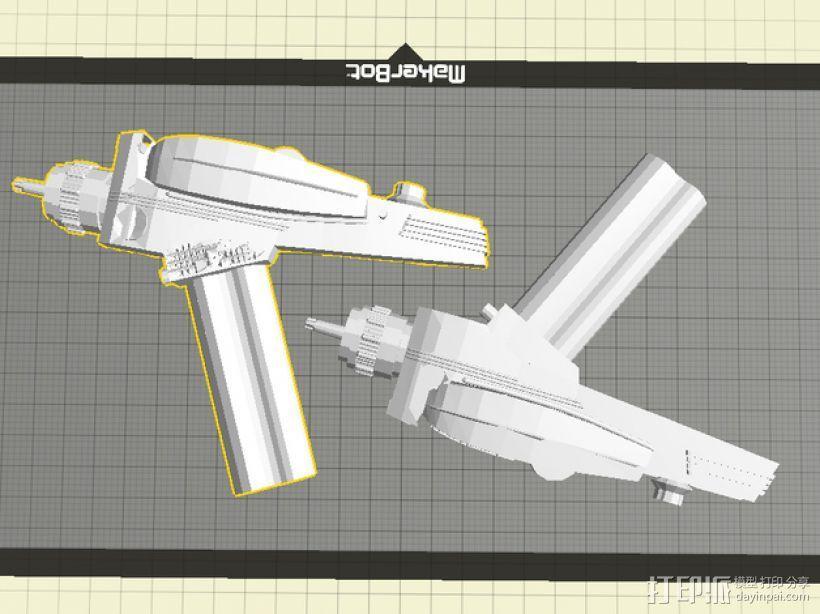 激光标线器 3D模型  图1