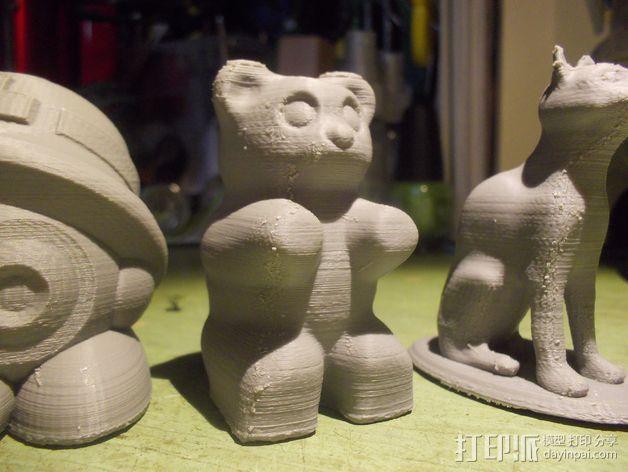 橡皮熊  3D模型  图2