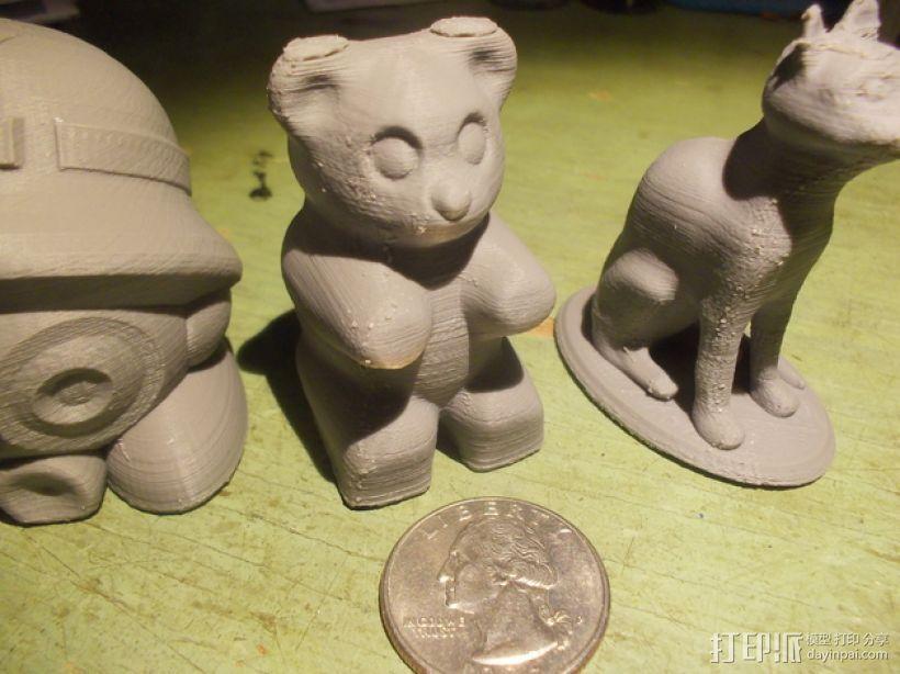 橡皮熊  3D模型  图1