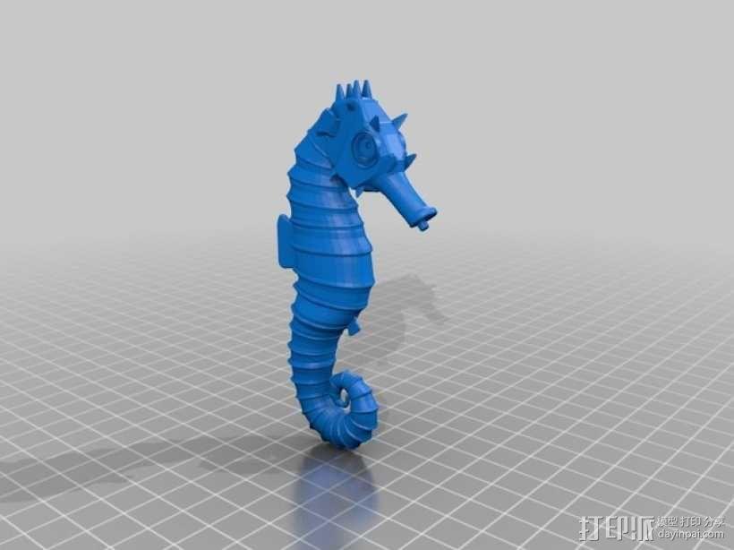 海马 3D模型  图3