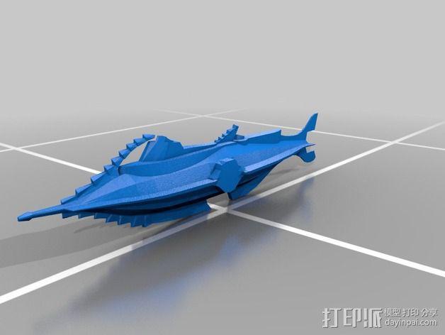 瓶子中的鹦鹉螺 3D模型  图7