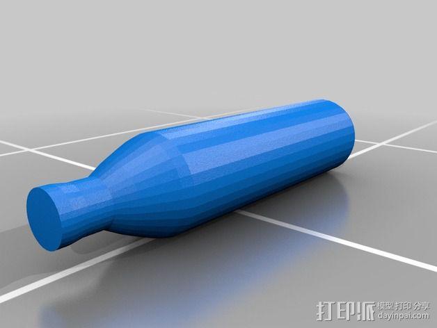 瓶子中的鹦鹉螺 3D模型  图9