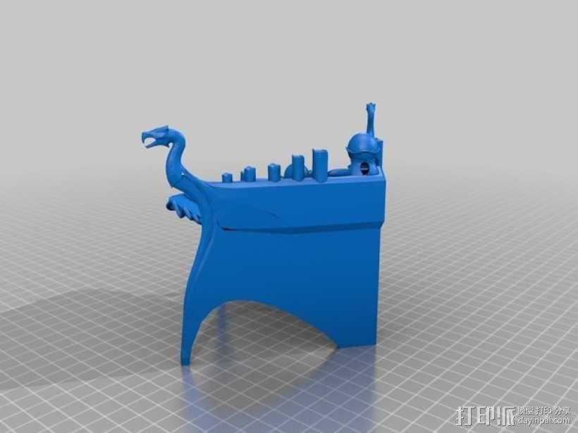 上古卷轴 附魔台  3D模型  图2