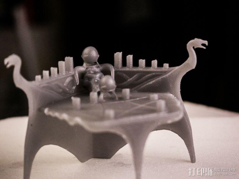上古卷轴 附魔台  3D模型  图4