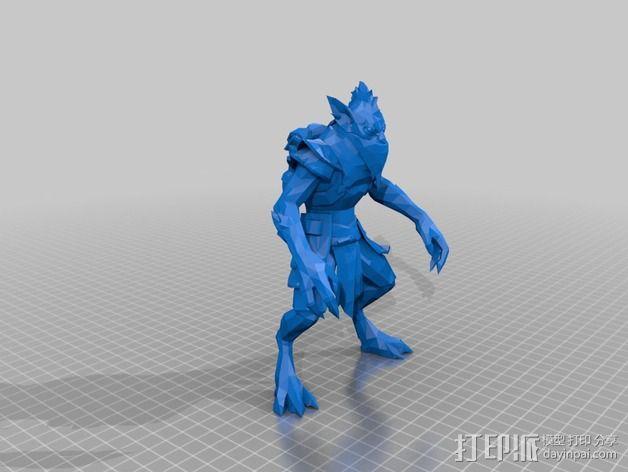 僵尸赏金猎人  3D模型  图2