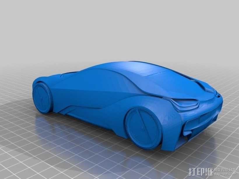 宝马汽车  3D模型  图1