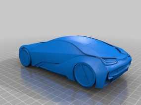 宝马汽车  3D模型