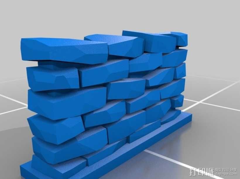 石墙 3D模型  图4