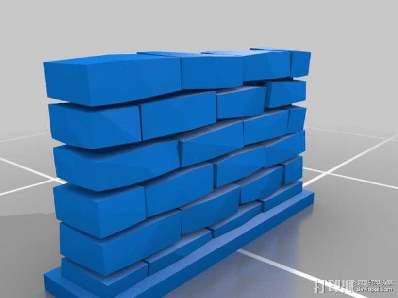 石墙 3D模型  图3