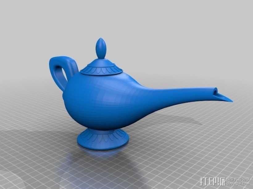神灯 3D模型  图1