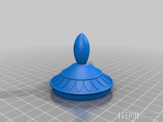 神灯 3D模型  图5