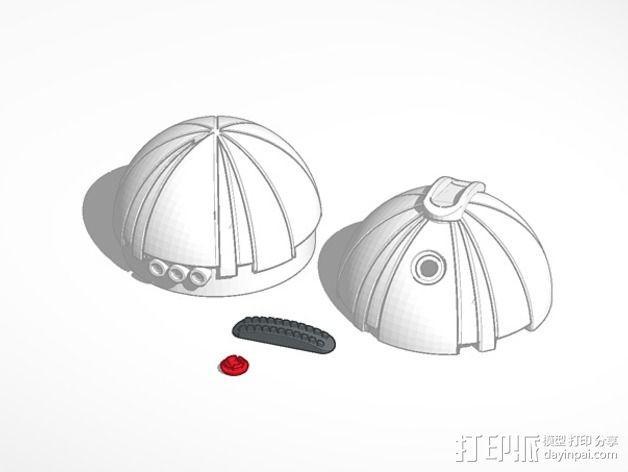 热能炸弹  3D模型  图2