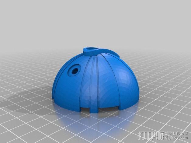 热能炸弹  3D模型  图3