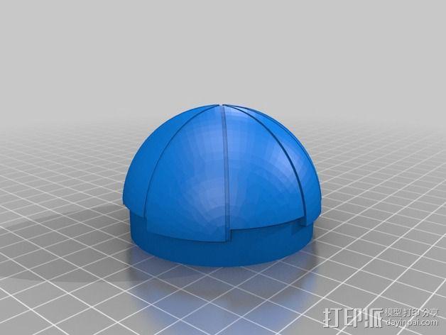 热能炸弹  3D模型  图4