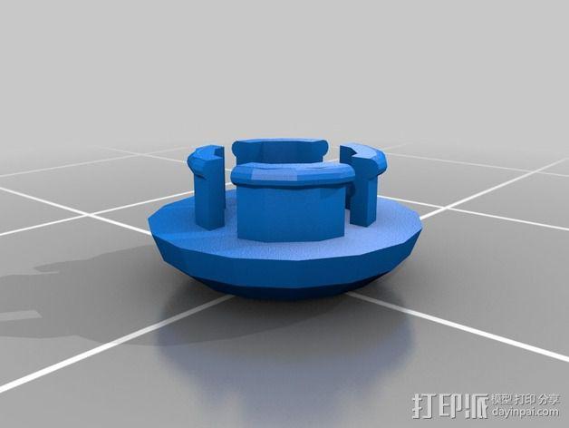 热能炸弹  3D模型  图6