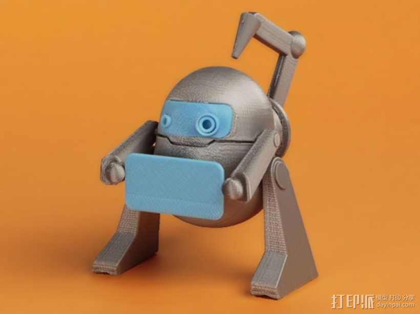 机器人 LEO 3D模型  图1