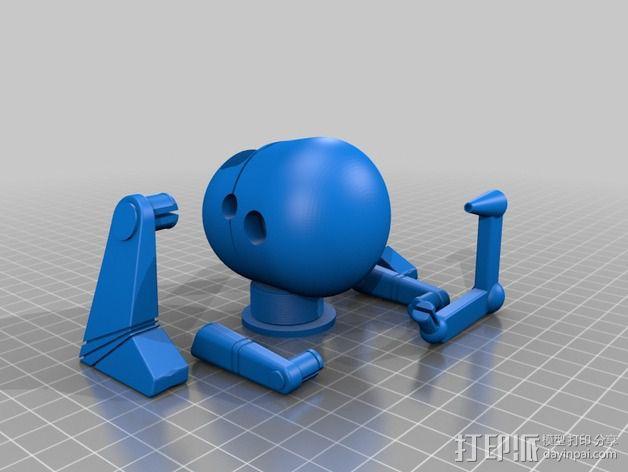 机器人 LEO 3D模型  图3