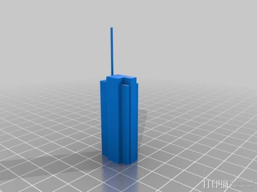 芝加哥摩天大厦 3D模型  图2