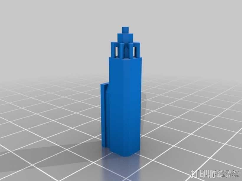 芝加哥摩天大厦 3D模型  图10