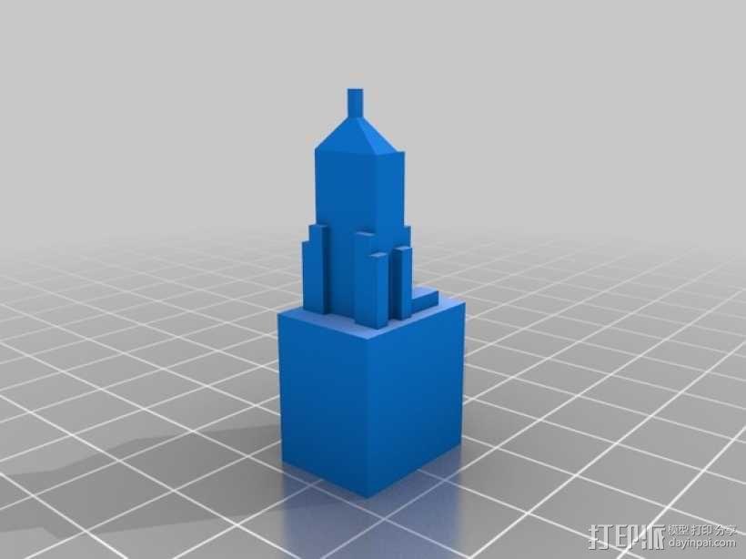 芝加哥摩天大厦 3D模型  图14