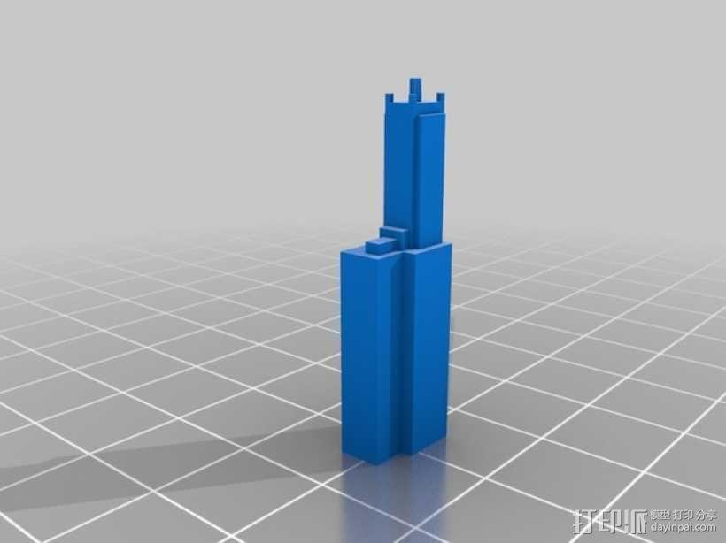 芝加哥摩天大厦 3D模型  图15