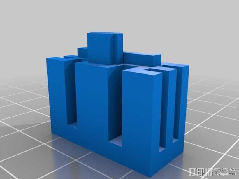 芝加哥摩天大厦 3D模型  图17