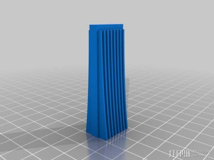 芝加哥摩天大厦 3D模型  图23