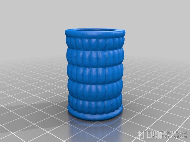图坦卡门权杖 3D模型  图3