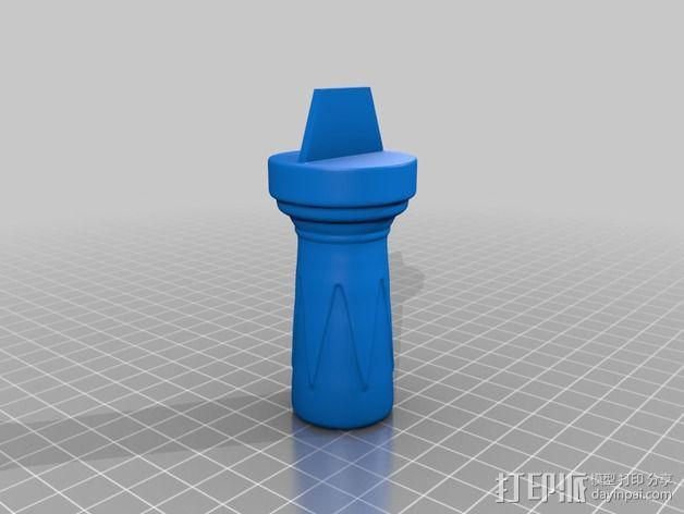 图坦卡门权杖 3D模型  图4