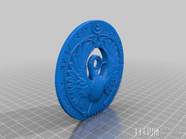 图坦卡门权杖 3D模型  图5