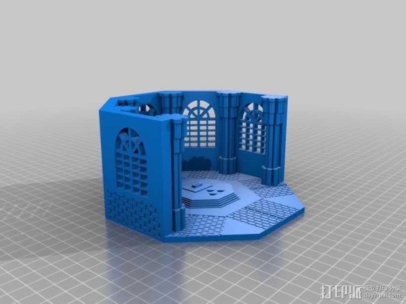 塞尔达传说剑室 3D模型  图1