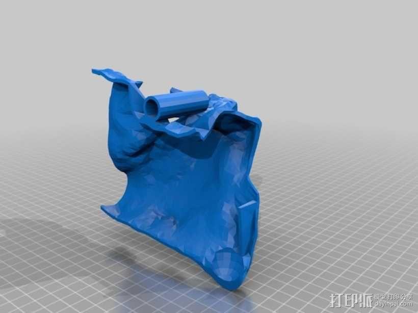 狮子头骨 3D模型  图6