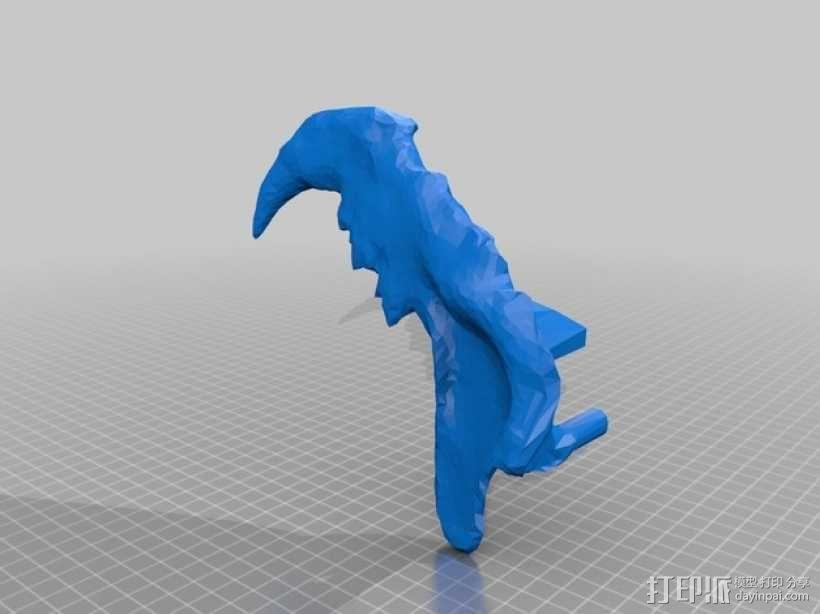 狮子头骨 3D模型  图10