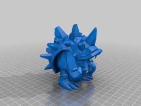 弗雷尔卓德皮甲龙龟 3D模型