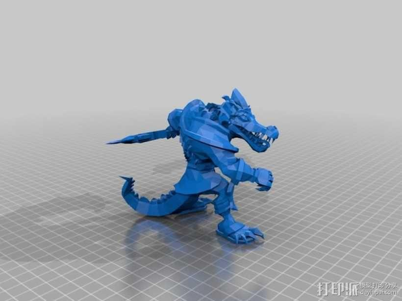 沙漠屠夫 3D模型  图1