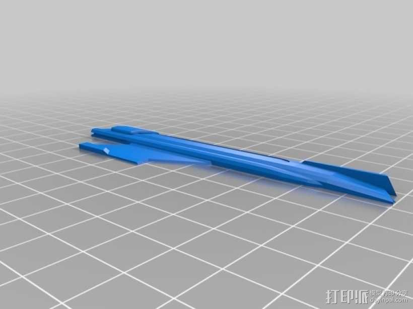 米兰达号星舰 3D模型  图7