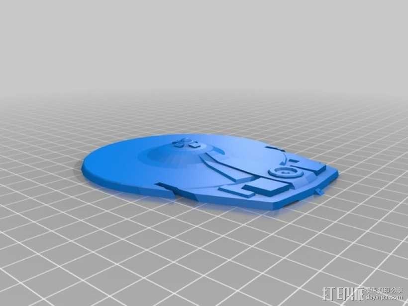 米兰达号星舰 3D模型  图11