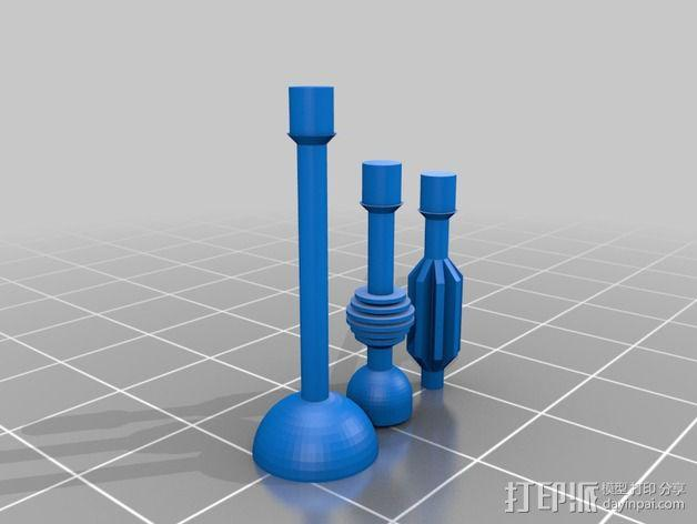 戴立克机器人  3D模型  图2