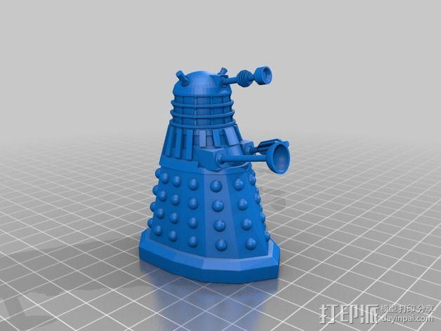 戴立克机器人  3D模型  图1