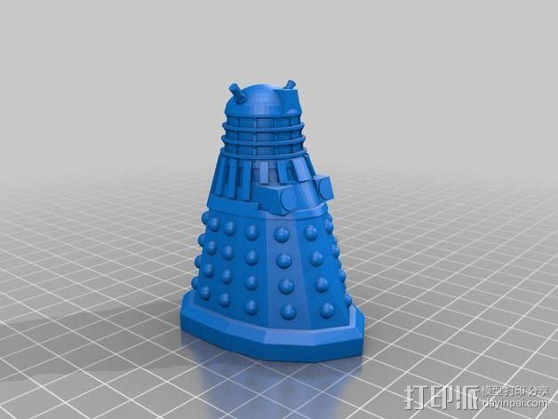 戴立克机器人  3D模型  图3