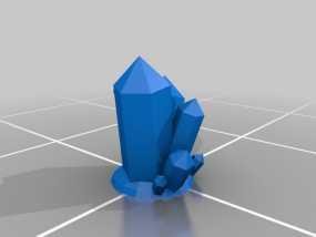 大水晶 3D模型