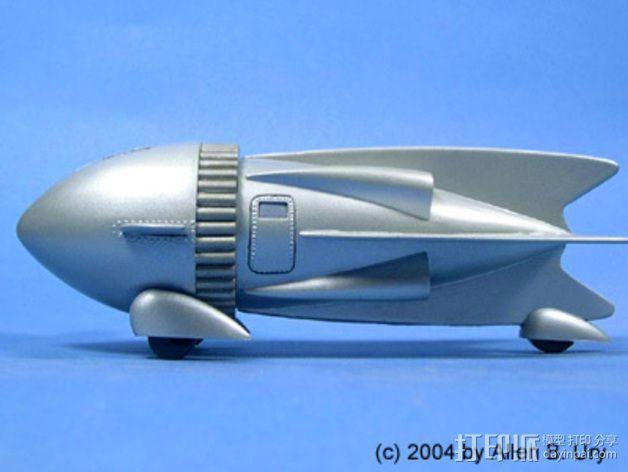 飞侠哥顿 飞船 3D模型  图7