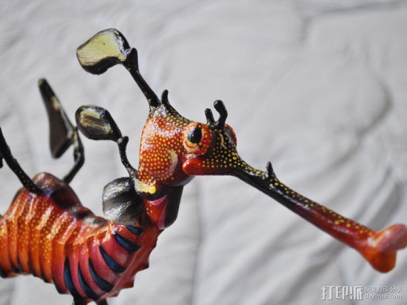叶海龙 海龙 3D模型  图1