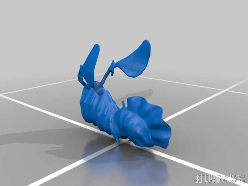 叶海龙 海龙 3D模型  图2